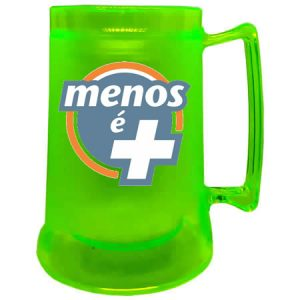 Caneca Gel Colorida Personalizada